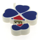 Regalos promocionales PVC Logotipo Cliente USB Stick Pen drives