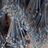 Corde galvanisée par sûreté de fil d'acier avec l'oeil flamand