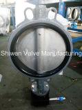 ISO5752 Двухстворчатый клапан с червячной передаче/электрического исполнительного механизма