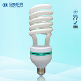 Lámpara de bajo consumo de 75 W mitad espiral halógena / mixta / Tri-color de 2700K-7500K E27 / B22 220-240V