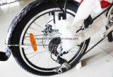 [30-50كم/ه] [مإكس سبيد] و [ليثيوم بتّري بوور] إمداد تموين يطوي دراجة كهربائيّة