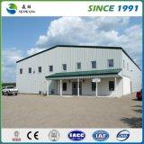 Costruzione di telaio in acciaio / officina di fabbricazione prefabbricata / deposito di struttura in acciaio