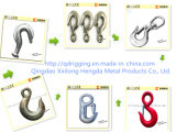 G80 Self Colored Safety Latch Clevis Slip Hook _Hardware Rigging