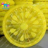 PVC空気プールの浮遊物を浮かべる膨脹可能な水おもちゃのスイカレモン