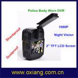 1080P полиции DVR полиции DVR 120 градусов широкоформатные несенное телом с ночным видением