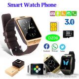 SIMのカードスロット(DZ09)が付いているBluetoothの熱い販売のスマートな腕時計