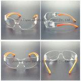 Doucement glaces de lunetterie de sûreté de pattes injectées par double (SG105)