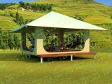 Pagode-Dach-Hotel-Zelt-Rücksortierung-Zelt 5X5m