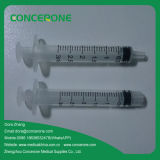3 Parts (1ml-100ml)를 가진 메마른 Disposable Syringe