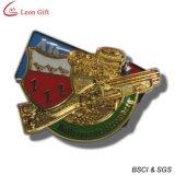 Distintivo su ordinazione dell'oro di marchio di alta qualità (LM1751)