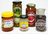 مطبخ منتوجات [كن غودس] [غلسّ] مرطبان عسل تشويش مرطبان تخزين زجاجة مرطبان