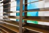 Het goedkoopste Aangepaste Horizontale Blind van de Rol van de Jaloezie van het Latje Houten