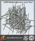 Волокно прочности Hight извлеченное Melt нержавеющее прямое стальное