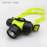 3 AAA潜水の3ワット力LEDのヘッドライト(T3065)