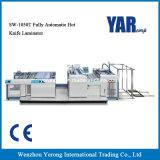Laminatore caldo completamente automatico della pellicola della lama di prezzi di fabbrica Sw-1050t da vendere