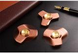 2017の銅、真鍮の純粋な金属から成っている最も売れ行きの良い落着きのなさのおもちゃ手の紡績工