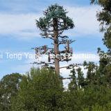 鋼鉄単一の管の電気通信のためのBionic人工的なごまかされた木タワー