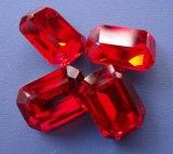보석 만들기를 위한 장식적인 수정같은 모조 다이아몬드 부속품