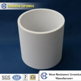 Fodera di ceramica del tubo dell'alta allumina di 92% per la soluzione di protezione di usura
