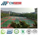 Pavimento profissional profissional antiderrapante de borracha Spu Sports Court para competição