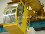 Grua suspensa de viga amplamente utilizada com dupla elevação elétrica