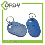 アクセスのためのTK4100 Em4200 RFIDのABS Keyfobの近さKeychain