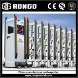 Rongo Electric Aluminio Acordeón Puerta plegable