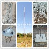 180feet Communicatie Guyed van de Staaf van het Staal van de hete ONDERDOMPELING Gegalvaniseerde Stevige Tubulaire Toren