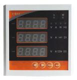 Analyseur d'harmoniques de Digitals de panneau de longeron électrique triphasé du mètre DIN