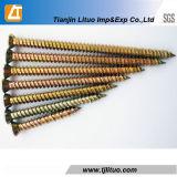 Torx Zink-Beton-Schraube des Kopf-T30/25 gelbe