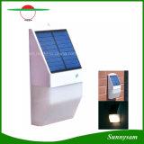 Новейшие разработки беспроводных солнечного света 25 светодиодный датчик радара сад настенный светильник для наружного освещения водонепроницаемые