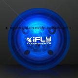 Bola de goma azul de la despedida del LED