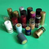 Tampões de PVC de alta qualidade com estampagem quente na parte superior para Voldka