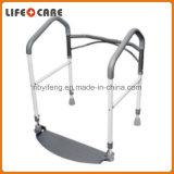 洗面所の安全折りたたみサポート柵