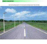 18W impermeabilizan la luz de calle solar integrada del sensor de movimiento IP65
