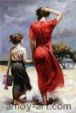 Chiffre impressionnant de reproduction de Pino peintures d'huile