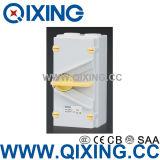 IP66 IEC 20A는 힘 절연체 스위치 Qxf4-420 4poles를 방수 처리한다