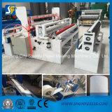 Precio automático de la máquina el rebobinar del rodillo enorme del rodillo del papel higiénico de la maquinaria 1575m m de Shunfu que raja