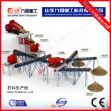 Triturant de sable pour la ligne de production de concassage complet