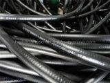 Industrie de la surface lisse / en tissu Tuyau hydraulique haute pression en caoutchouc