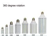 Luz ligera de la luz del maíz de la rotación LED de 360 grados