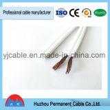 Aislamiento de PVC la construcción de núcleos de doble cable Cable paralelo Cable Flexible de SPT