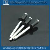 アルミニウム鋼鉄黒いヘッドブラインドのリベット