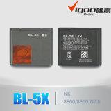 Bateria para o telefone móvel Bl-5X