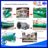 1-10 시간 NPK 합성 비료 생산 라인 장비 당 톤