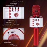 Беспроводная технология Bluetooth Микрофон караоке Q37 для караоке
