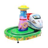 Kiddie Ride Machine de jeu Le Château de ronde Train
