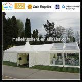 유럽 시장 20mx40m 공간 지붕 천막이 800명의 사람들을 Wedding 고산 알루미늄 옥외 정원에 의하여 분명히 당 뼘으로 잰다