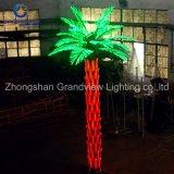 Colonne esterne della decorazione di /Wedding dell'indicatore luminoso della palma del LED