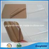 Effacer feuille acrylique extrudé emballé avec film PE ou du papier kraft
